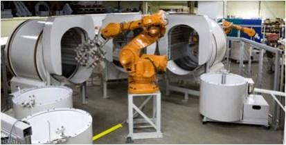 Литейное производство роботизированная ячейка
