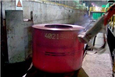 Литейное производство - роботизация выпуска листовой стали