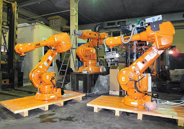 """Промышленные роботы от компании """"Фруктонад Групп"""""""