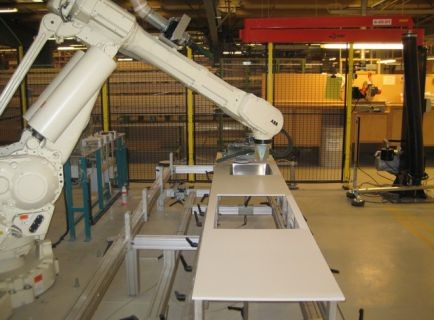 Паллетизация на производство строительных материалов