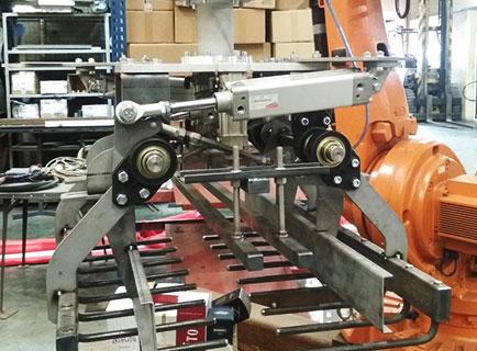 Производство строительных материалов: захват робота