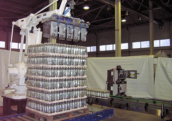 Процессы паллетизации на производствах