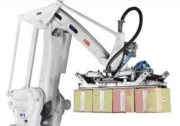 робот паллетайзер