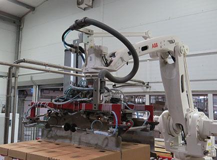 Комбинированные захваты промышленного робота