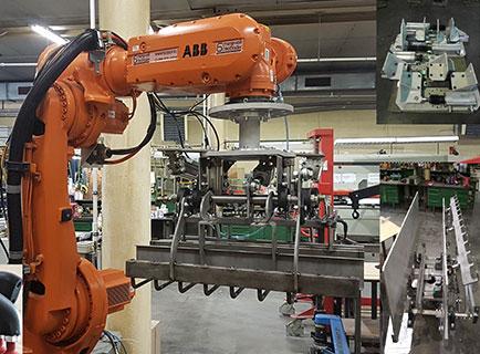 Вилочные захваты робота