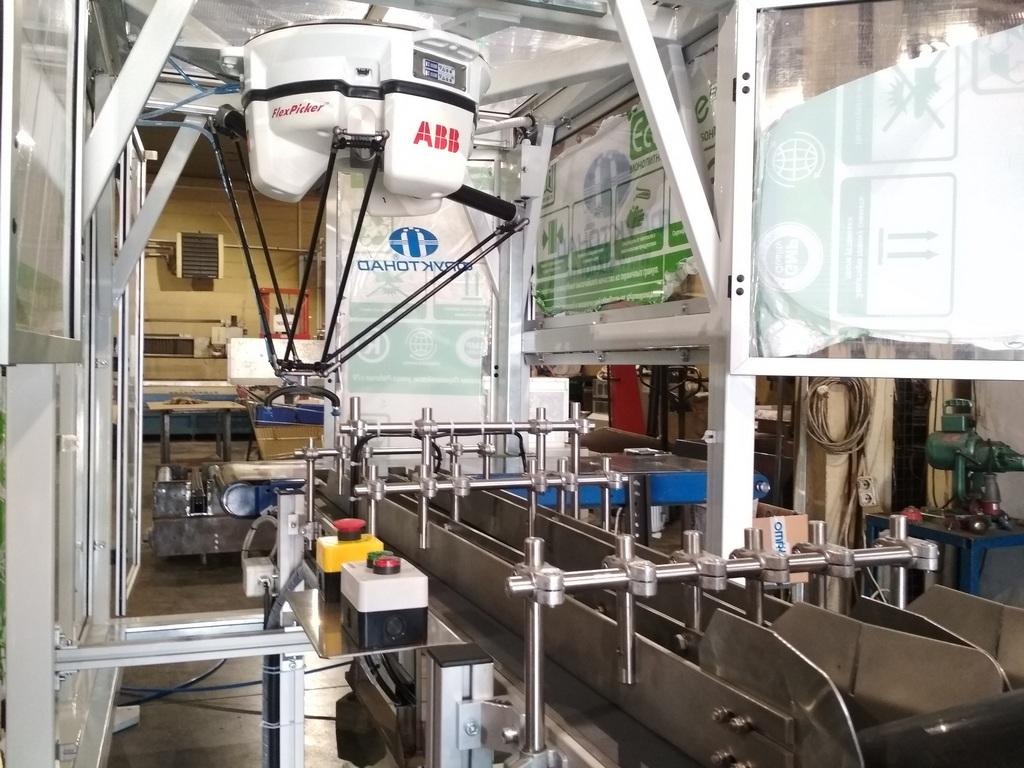 """Испытания робота для нового проекта  прошли в компании """"Фруктонад Групп"""""""