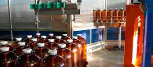Завершение работ на линии розлива пива на пивоваренном заводе «Самко»